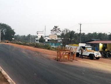 Talapady checkpoint closed